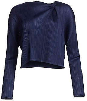 Pleats Please Issey Miyake Women's Monthly Colors November Short Jacket