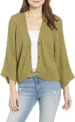 BP Dolman Sleeve Button Front Cardigan