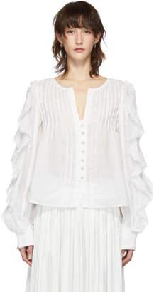 Isabel Marant White Romney Shirt