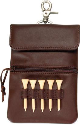 Royce Leather Clip-On Golf Accessory Bag