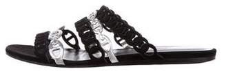 Hermes Nude Slide Sandals