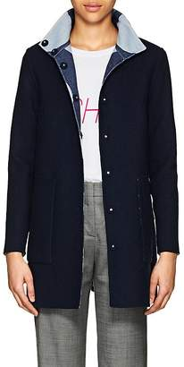 Lisa Perry Women's Reversible Wool Swing Coat