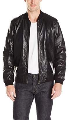 Ted Baker Men's Dryden Leather Jacket