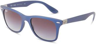Ray-Ban mens 0RB4195 601/7152 Tech Liteforce Wayfarer Sunglasses