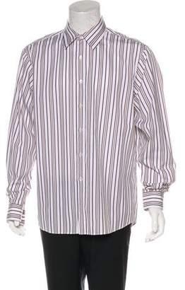Michael Kors Striped Button Shirt