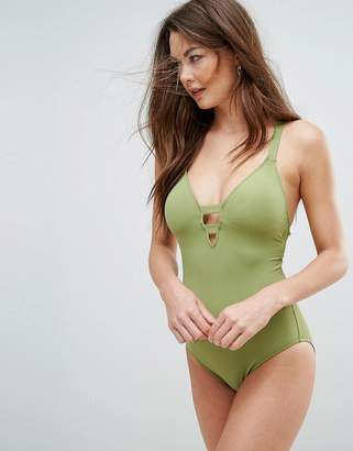 Seafolly Green Swimsuit
