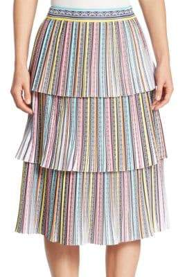 Mary Katrantzou Baccarat Tiered Skirt