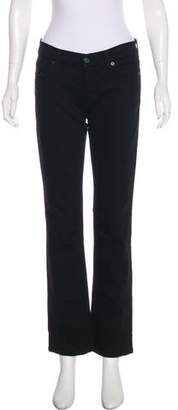 7 For All Mankind Embellished Mid-Rise Jeans