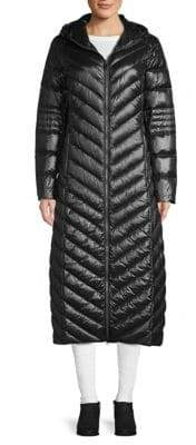 Saks Fifth Avenue Maxi Puffer Coat