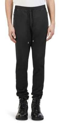 Balmain Dressy Tux Stripe Joggers