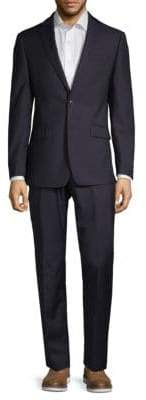 Calvin Klein Slim-Fit Two-Piece Pinstripe Suit