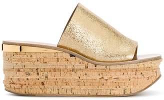 Chloé Lauren wedge sandals