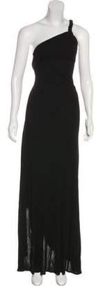 Michael Kors Asymmetrical Halter Dress