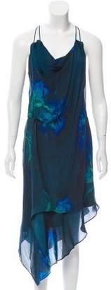 Haute Hippie Silk Midi Dress