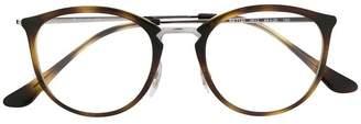 Ray-Ban tortoise shell effect glasses