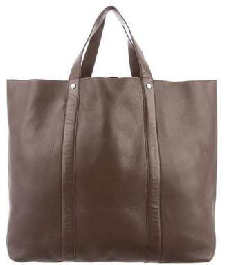 Tiffany & Co. Leather Shopper Tote