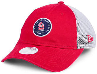 New Era Women's St. Louis Cardinals Washed Trucker 9TWENTY Cap