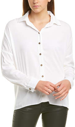 Michael Stars Boxy Button Up Shirt
