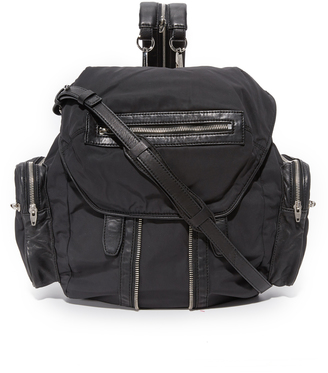 Alexander Wang Nylon Marti Backpack $850 thestylecure.com