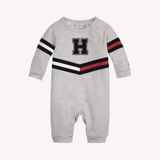 Tommy Hilfiger TH Baby Heart Stripe Onesie