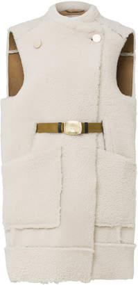 Schumacher Dorothee Curly Layer Reversible Lamb Vest