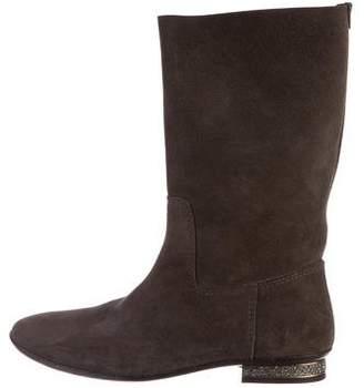 Pedro Garcia Suede Mid-Calf Boots
