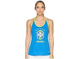 Nike CBF Brasil Crest Dry Tank Top Women's Sleeveless