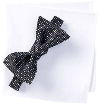 BROLETTO Marvyn Mini Bow Tie & Pocket Set $19.97 thestylecure.com