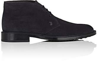 Tod's Men's Suede Chukka Boots - Navy
