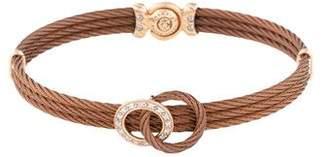 Charriol Diamond Cord Bracelet