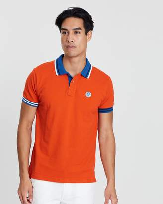 North Sails Short Sleeve Patch Polo