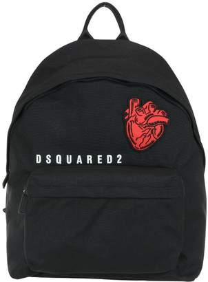 DSQUARED2 Bad Scout Heart Patch Backpack