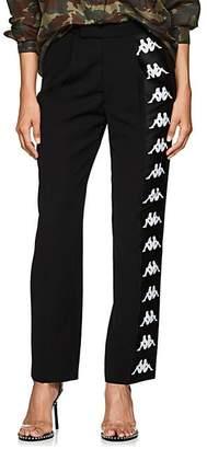 Faith Connexion Women's Logo-Striped Twill Track Pants - Black