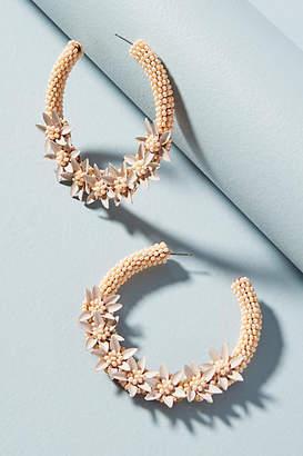 Anthropologie Perennial Wreath Earrings
