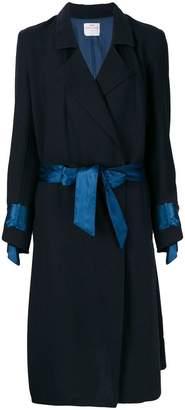 Forte Forte ribbon embellished belted coat