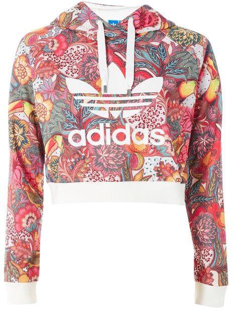 adidasAdidas originals Floral hoodie