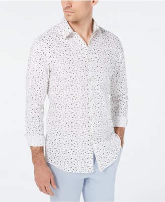 INC International Concepts I.n.c. Men Slim-Fit Confetti Print Shirt