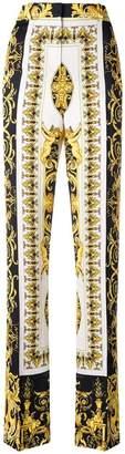 Versace baroque print trousers