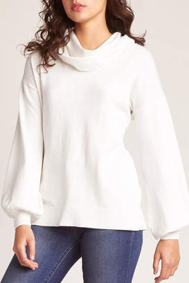 BB Dakota In-A-Stitch Sweater, Ivory