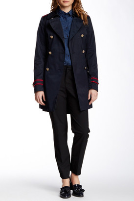 Vince Camuto Military Trench Coat (Petite & Regular) $260 thestylecure.com