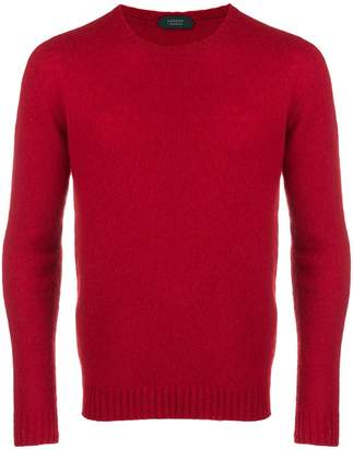Zanone slim fit knitted jumper