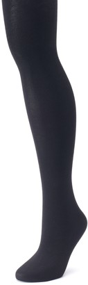 Apt. 9 Plus Size Flat Knit Sweater Tights