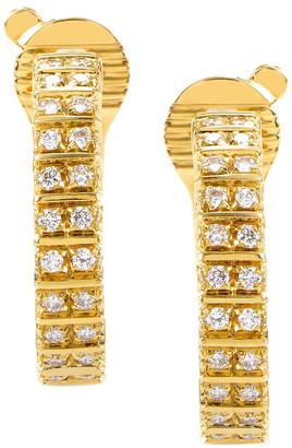 Boucheron Heritage  18K 1.35 Ct. Tw. Diamond Earrings