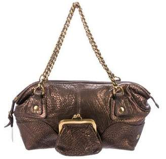 10fb447c72f9 Pre-Owned at TheRealReal · Dolce   Gabbana Metallic Pocket Chain Shoulder  Bag