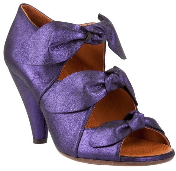 CHIE MIHARA - Leather bow shoes