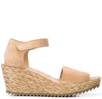 Pedro Garcia wedge heel sandals