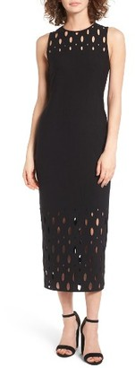 Women's Trouve Body-Con Maxi Dress $89 thestylecure.com