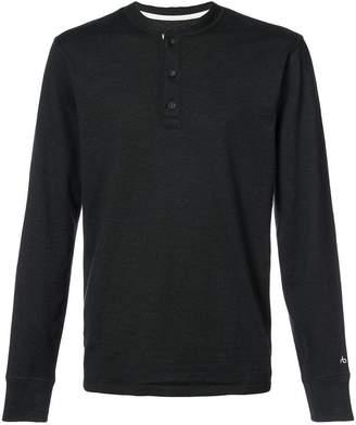 Rag & Bone buttoned sweatshirt