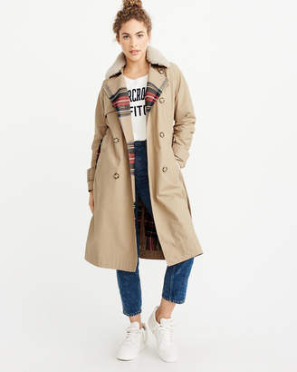 Abercrombie & Fitch Winter Trench Coat