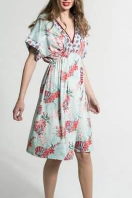 Smash Wear Floral Vneck Dress